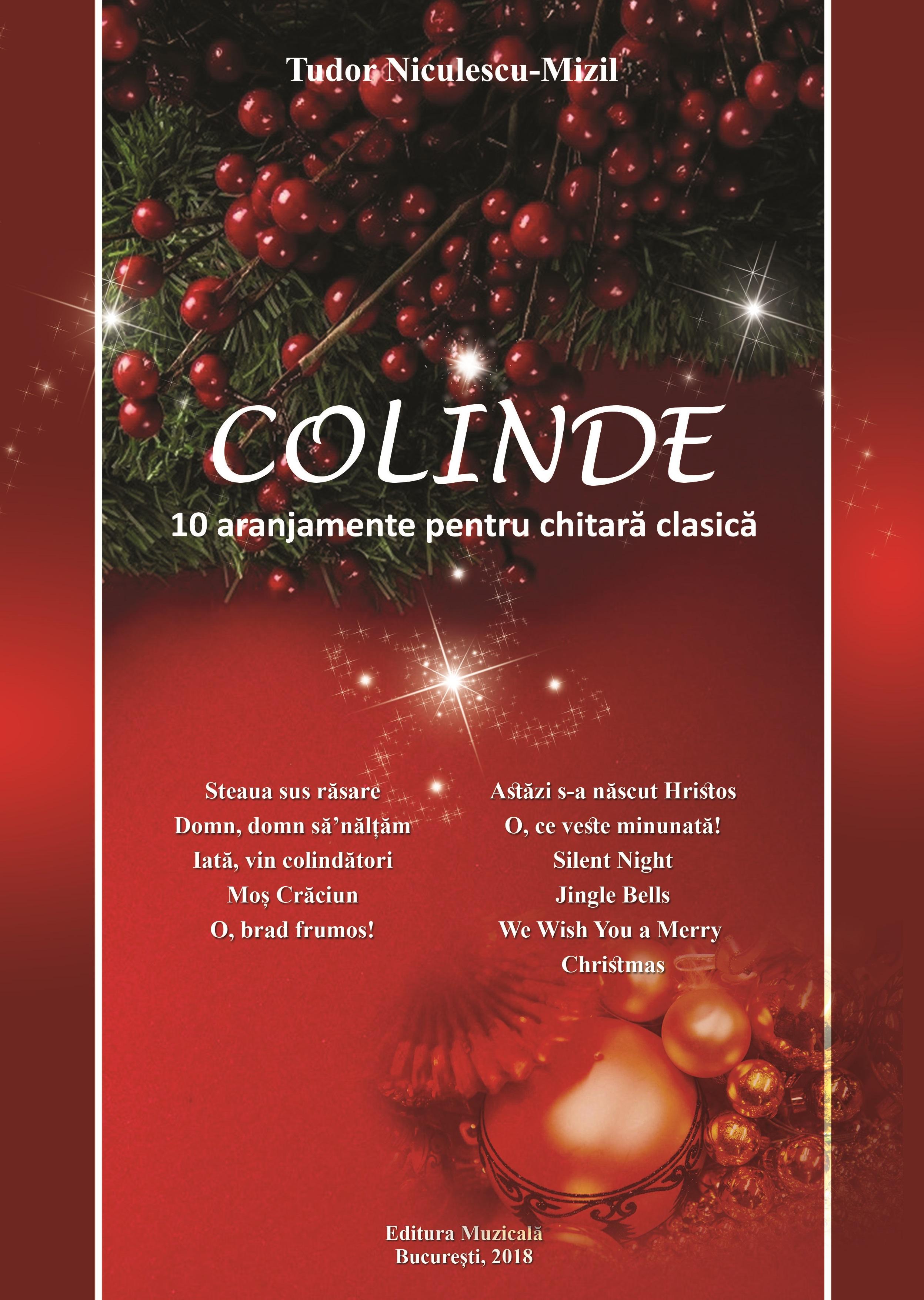Tudor-Niculescu-Mizil Christmas Carols Guitar