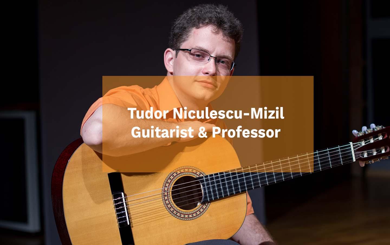 Tudor Niculescu-Mizil Guitarist